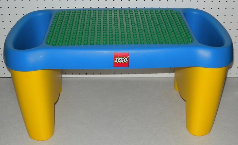 Lego Duplo Lap Desk Building Blocks Storage Table Little
