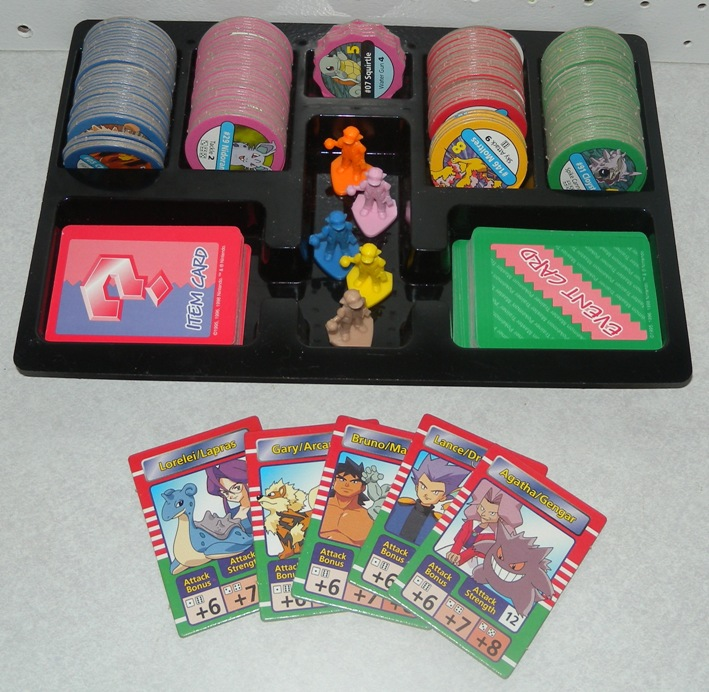 pokemon master trainer board game instructions