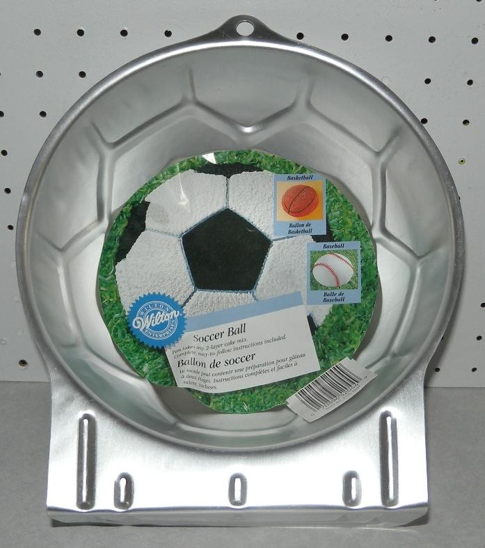 wilton 3d sports ball cake pan instructions